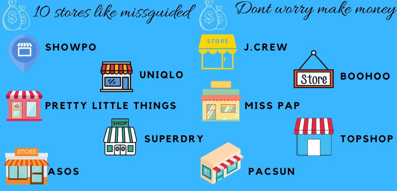 10 stores like missguided