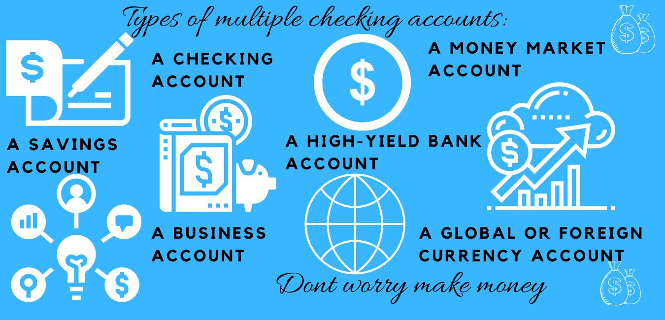 multiple checking accounts