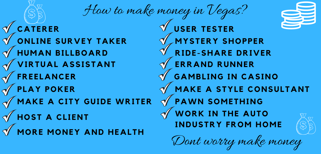 how to make money in vegas