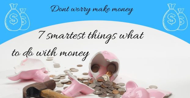 what to do with money