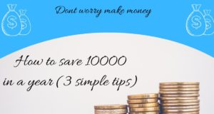 how to save 10000 in a year